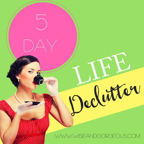 FREE 5-Day Life Declutter
