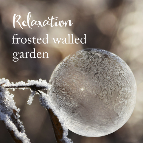 Relaxation - Frosty Walled Garden