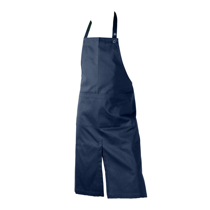Dark Blue Split Front Apron