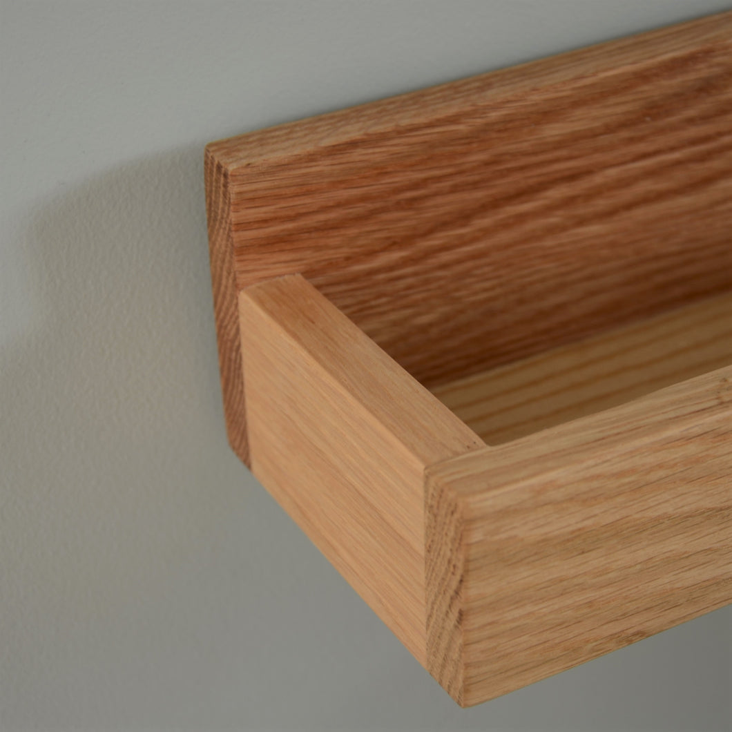 Oak Photo Shelf- 2 Sizes