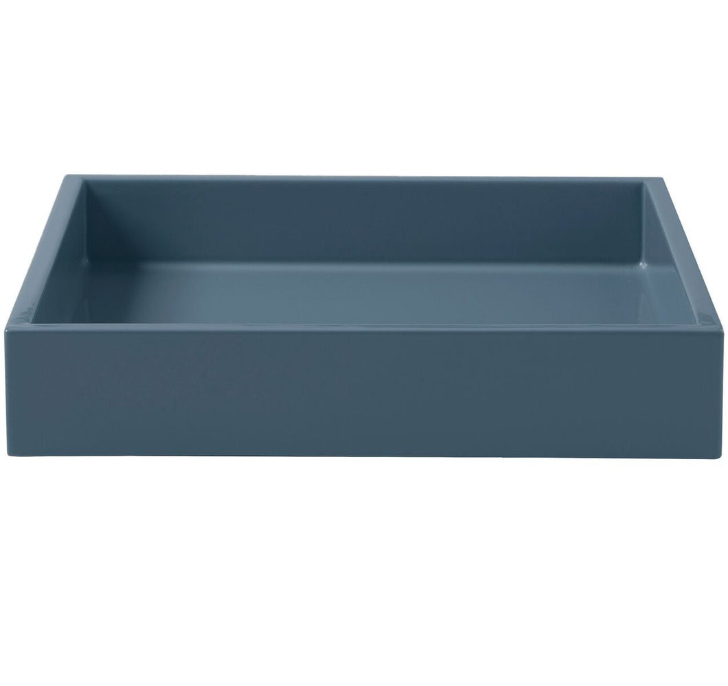 Blue Laquered Tray
