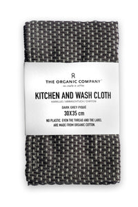 Grey Kitchen/Wash Cloth