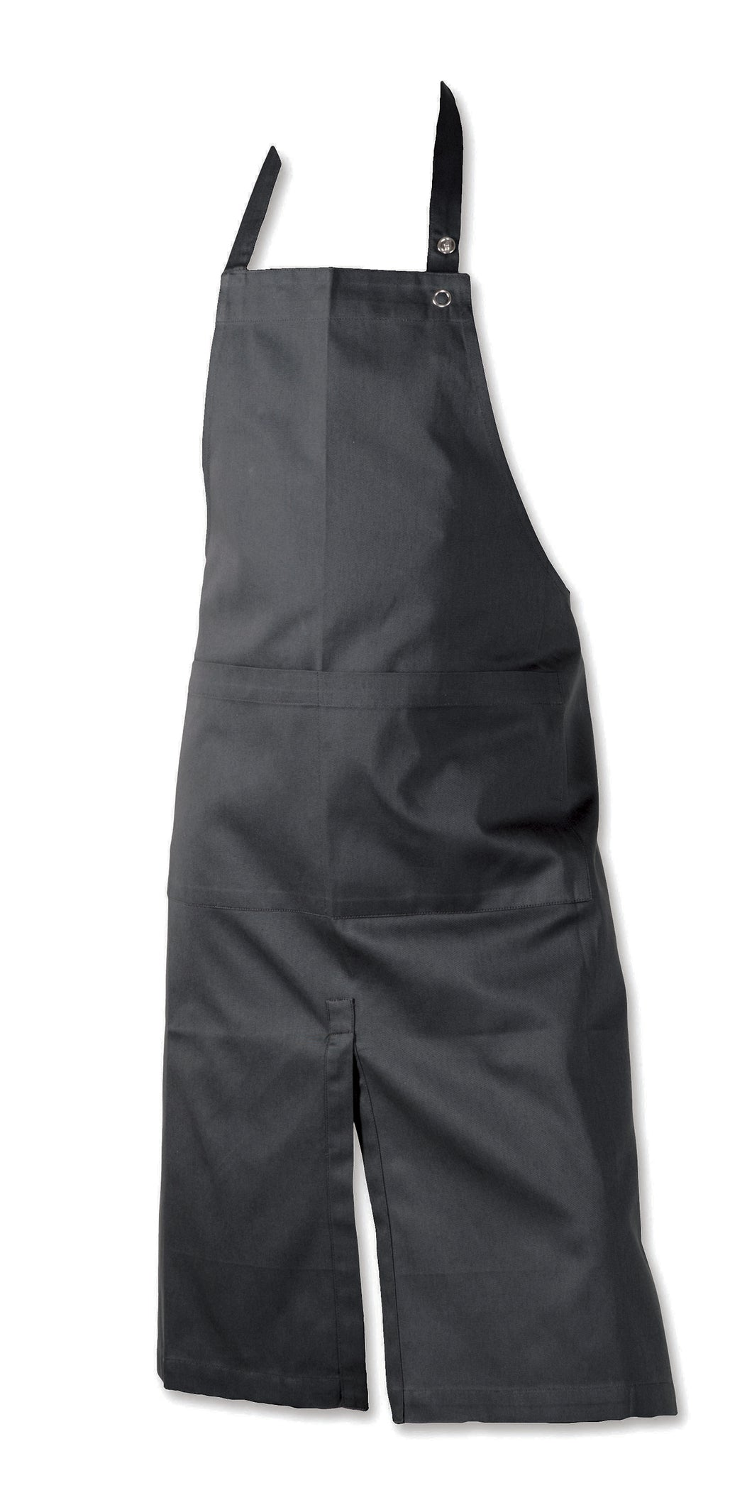 Grey Split Front Apron