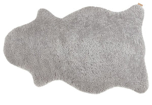 Light Grey Shorthaired Sheepskin