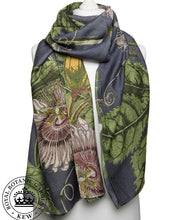 Passion Flower Print Scarf