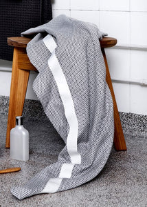 Wrap Around You Towel- Light Grey
