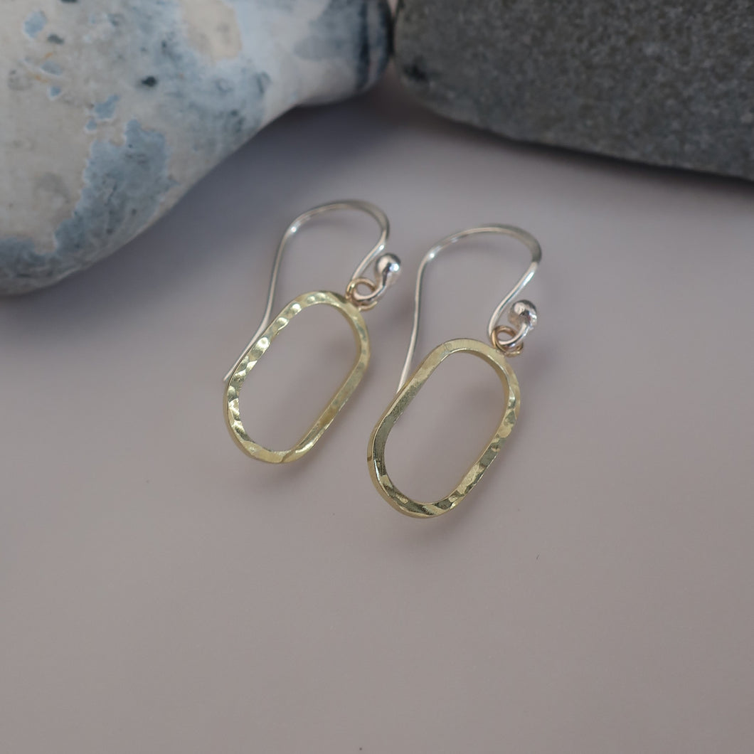 Fjord Gold Hook Earrings