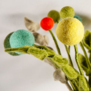 Large Felt Flower- Various Colours