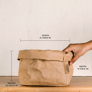 Paper Bag Blue- Two Sizes