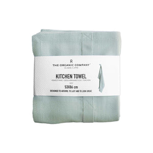 Sky Organic Cotton Tea Towel