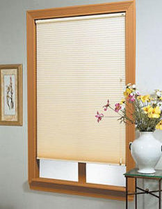 custom cut shades and mini blinds sold in store