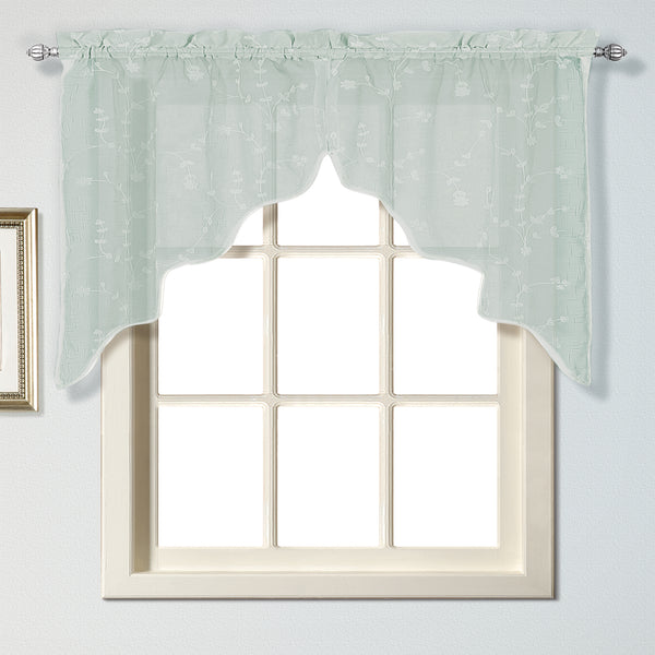 Savannah Rod Pocket Swag - - Marburn Curtains