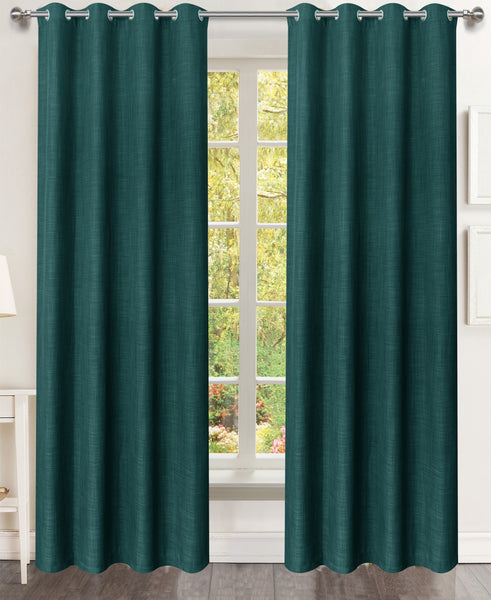 Serenity Grommet Panel - 054x084 Emerald Green C45260- Marburn Curtains