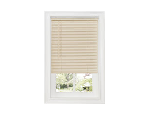 "Sundown 1"" Cordless Vinyl Mini Blind-ALABASTER - - Marburn Curtains"