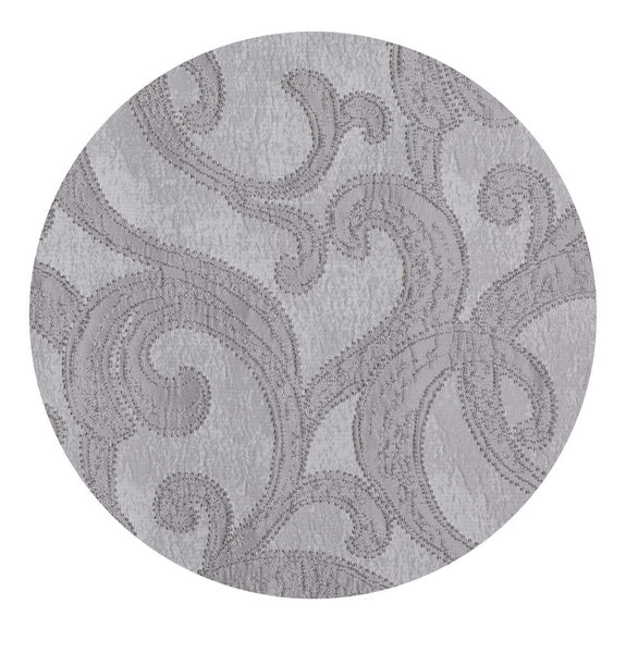 Valentina Grommet Panel - 052x084 Grey C46094- Marburn Curtains