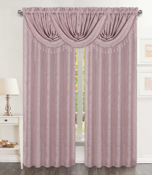 Savannah Waterfall Valance - - Marburn Curtains