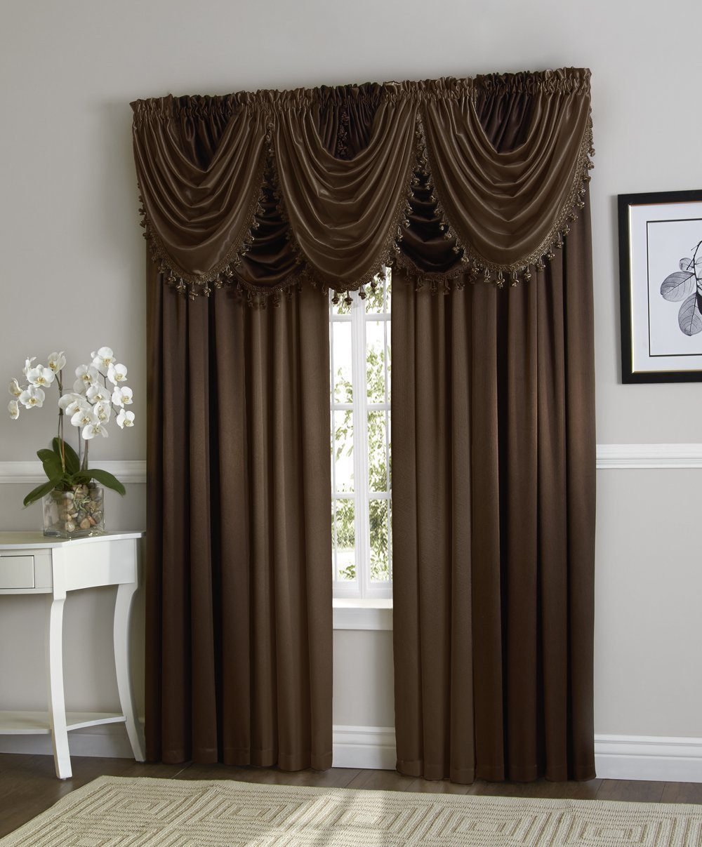 Hilton Rod Pocket Waterfall Valance Marburn Curtains