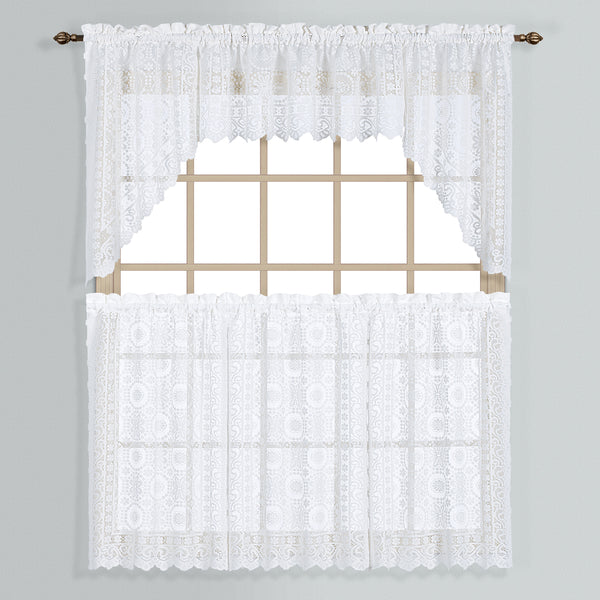 New Rochelle Lace Curtain Collection - - Marburn Curtains