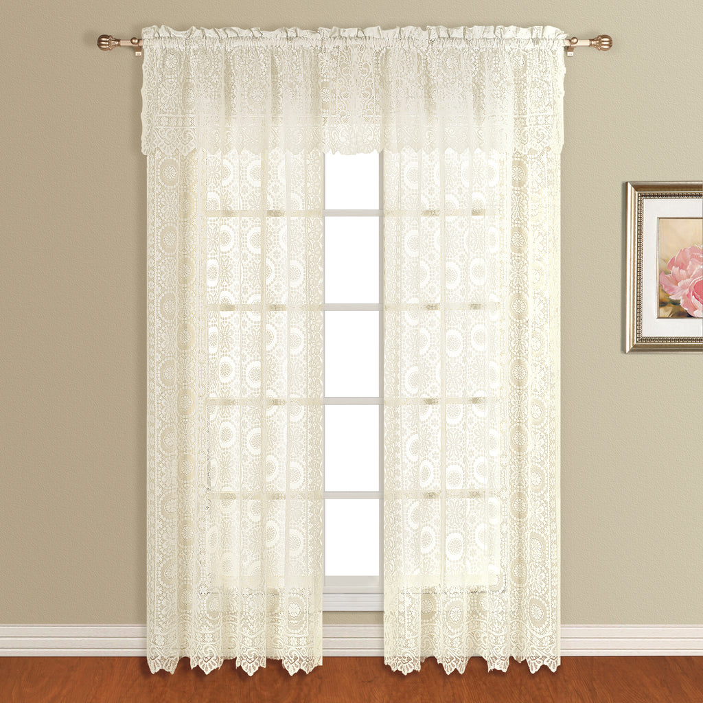 New Rochelle Lace Curtain Collection