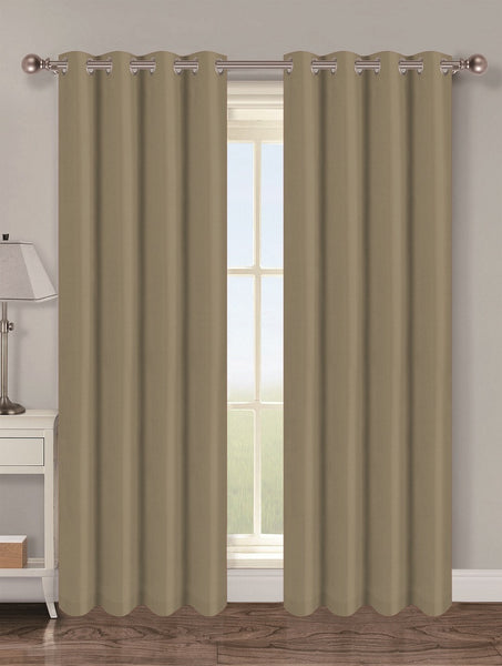 Twilight Thermal Blackout Grommet Panel - Panel   054x063 Sage C40344- Marburn Curtains