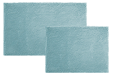 Chenille 2pc Bath Rug Set - - Marburn Curtains
