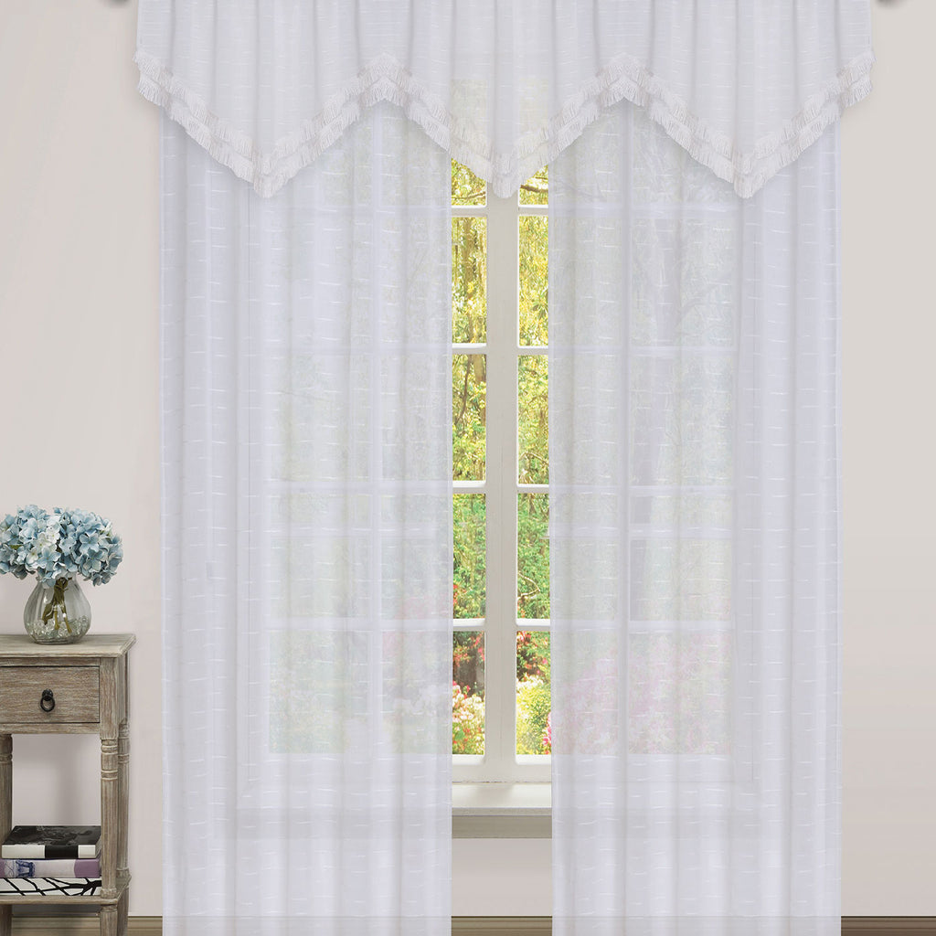 Roma Rod Pocket Sheer Panel