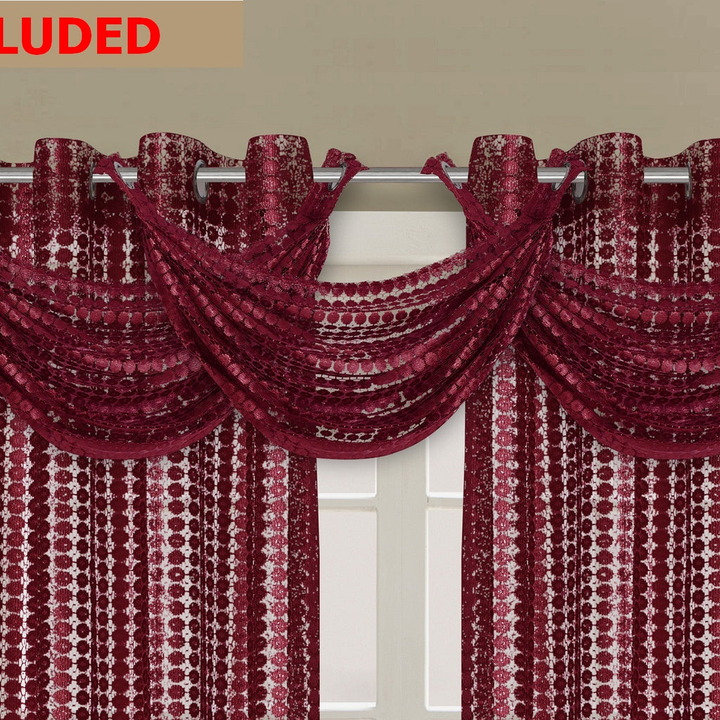 Links Waterfall Valance