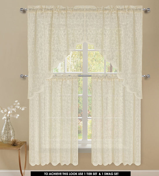Mirage Rod Pocket Swag - - Marburn Curtains