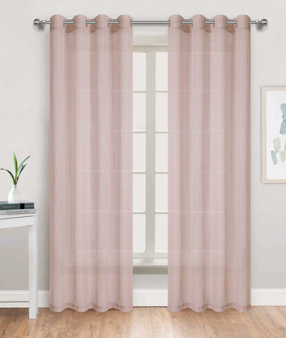 Skyline Sheer Grommet Panel Sheer - - Marburn Curtains