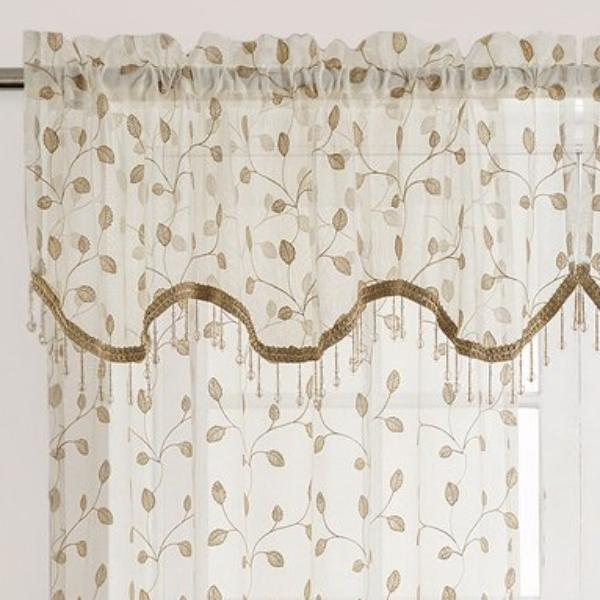 product valance over overstock shipping sheer free window scarf vcny home orders infinity on garden