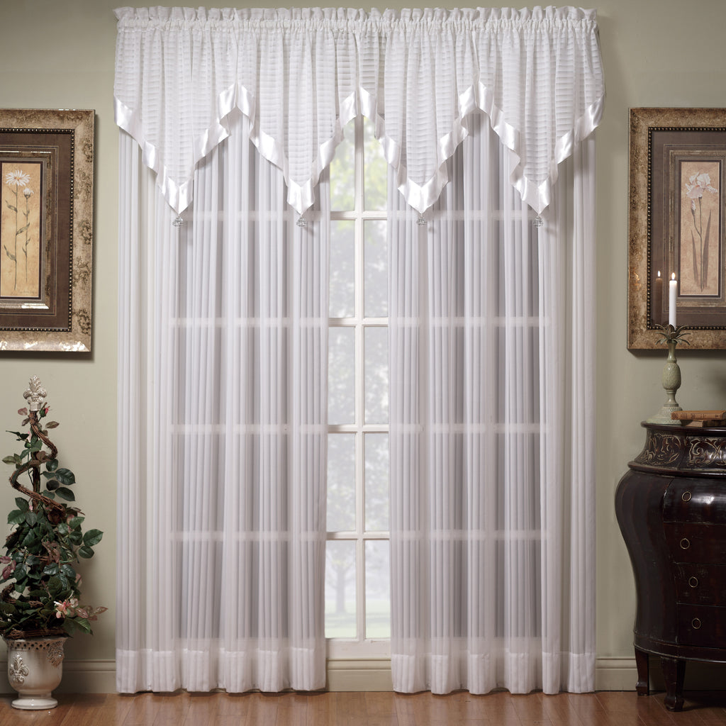Silhouette Sheer Rod Pocket Panel