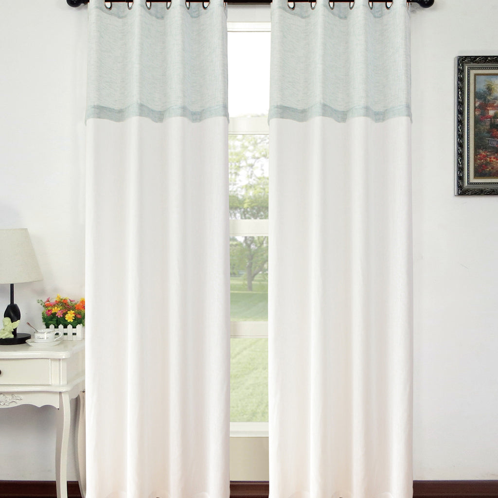 Aurora Sheer Grommet Panel 84""