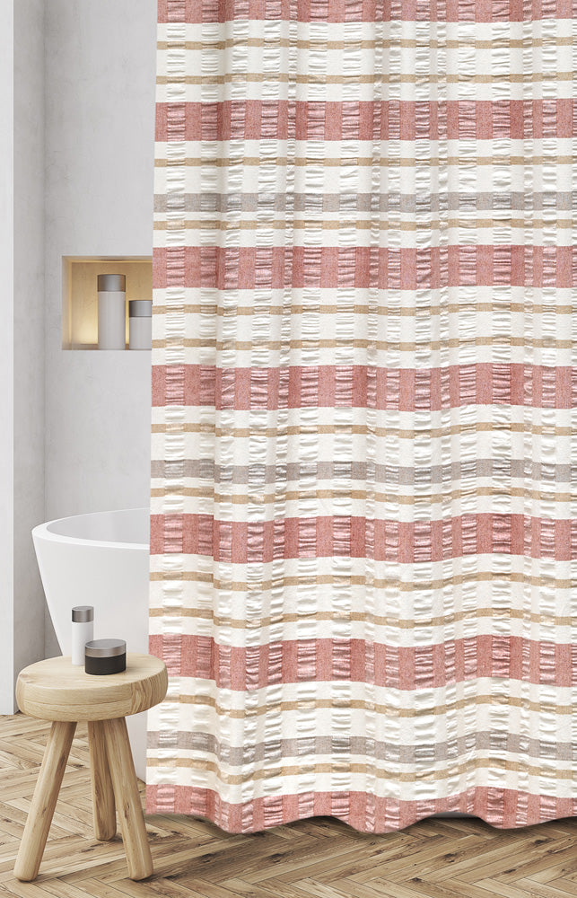 Baltic Fabric Shower Curtain