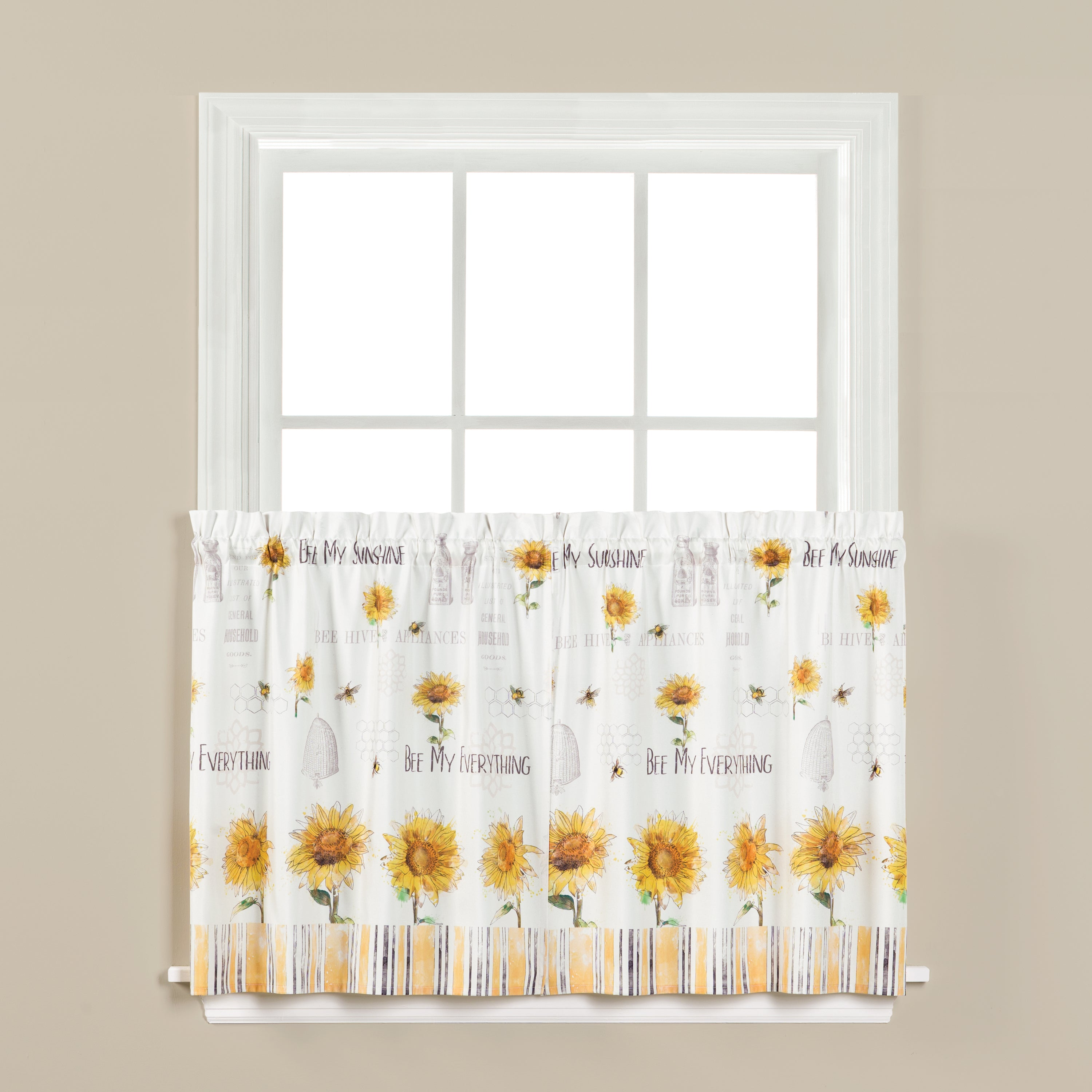 Bee And Bee Rod Pocket Valance Marburn Curtains