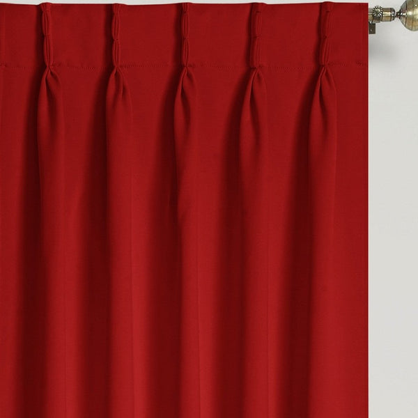Blackwell Pinch Pleat Blackout Panel - - Marburn Curtains