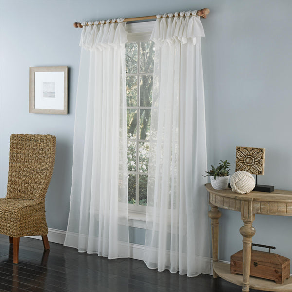 Breeze Sheer Tab Top Panel - - Marburn Curtains