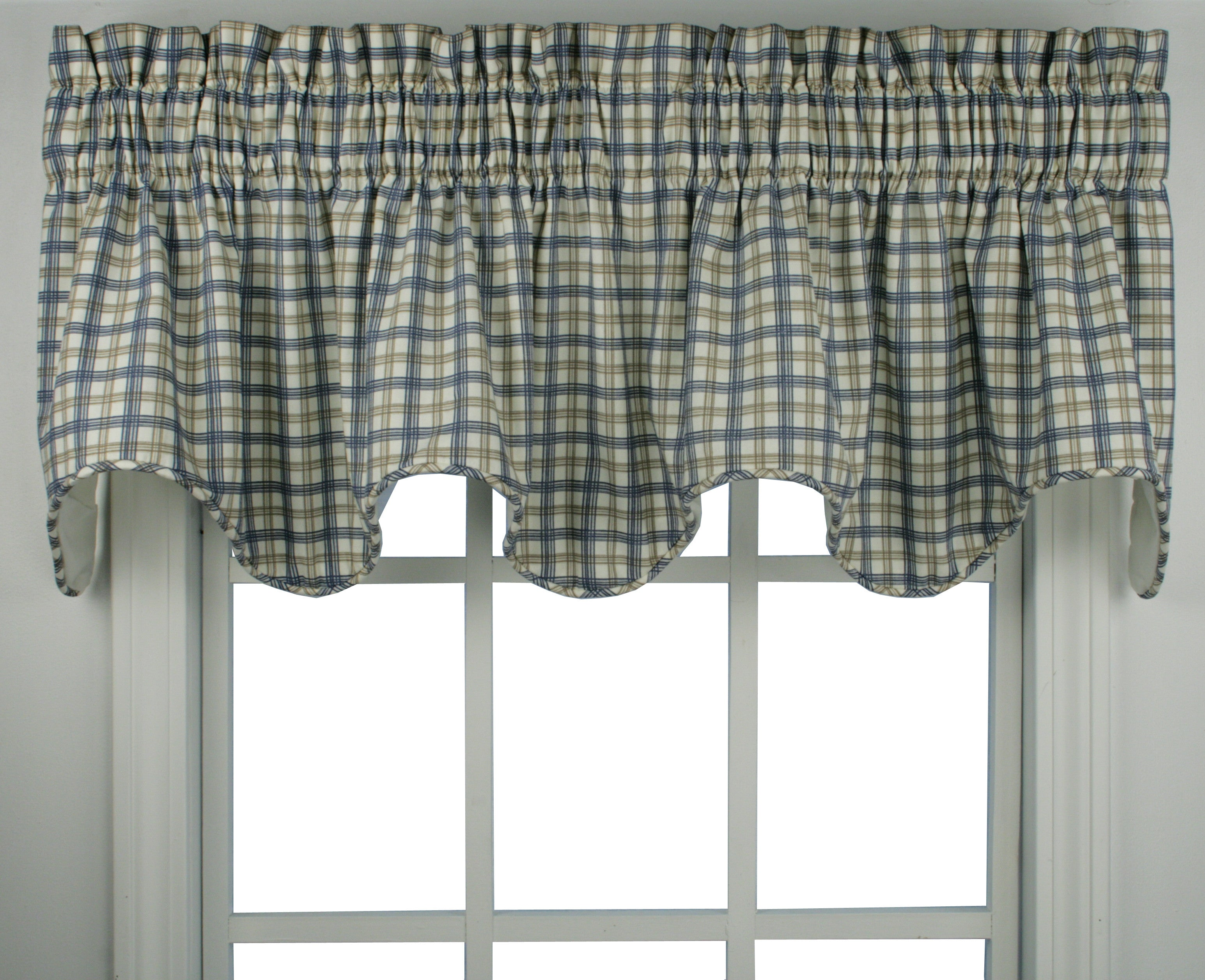 cotton window and trim percent n pattern classic kitchen blue pin valance white curtains pane crotchet