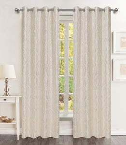 "Brook Grommet Panel 84"" - 054x084   Beige c44231- Marburn Curtains"