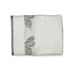 Butterfly Bath Collection Bath Towels - Bath Towel 027x054 Ivory C39791- Marburn Curtains
