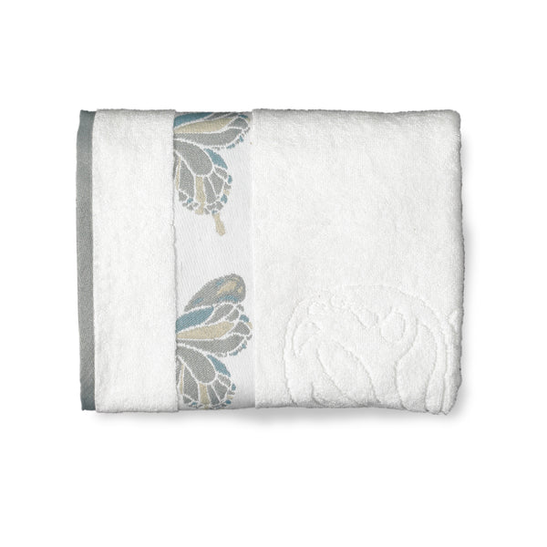 Butterfly Bath Collection Bath Towels - Bath Towel 027x054 White C39788- Marburn Curtains
