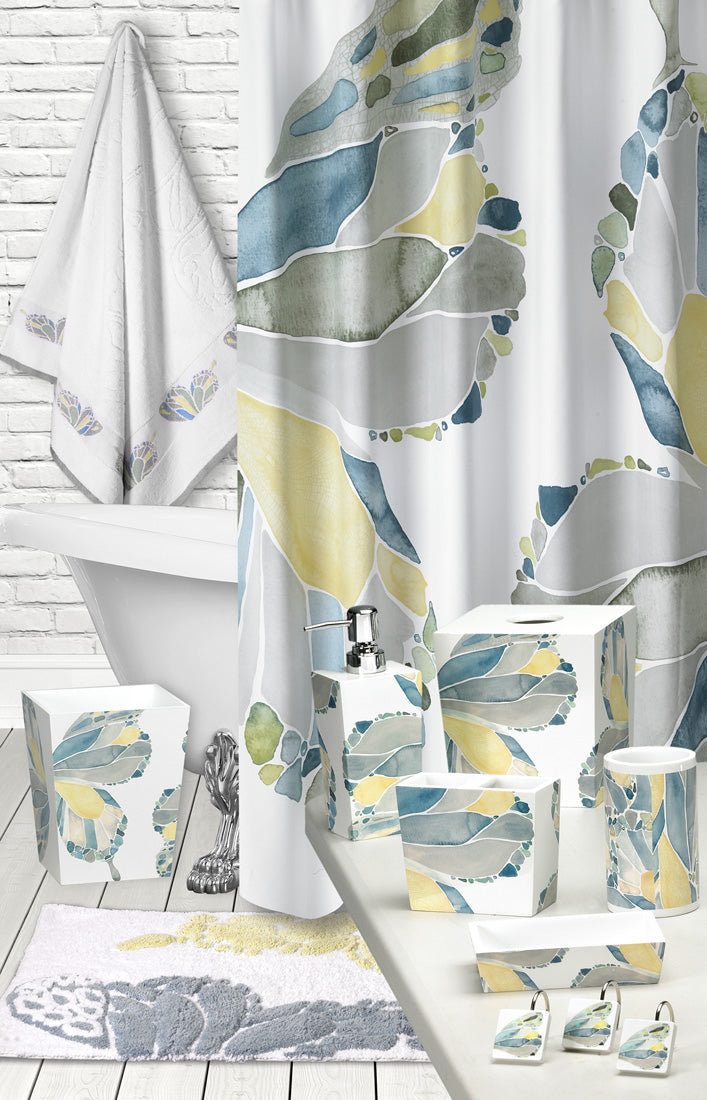 Butterfly Fabric Bath Collection