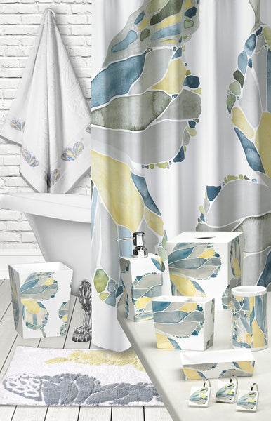 Butterfly Bath Collection Resin Tumbler - - Marburn Curtains
