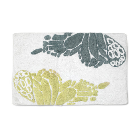 Butterfly Bath Collection Rug - Bath Rug 020x032 Multi C40373- Marburn Curtains