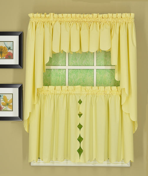 Orleans Rod Pocket Tier / Swag / Valance - - Marburn Curtains