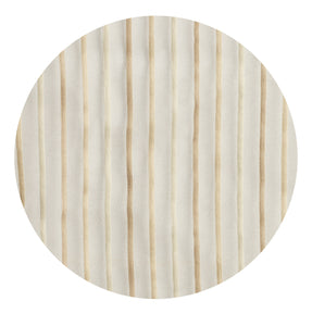 Pin Stripes Semi-sheer Grommet Panel - 054x084   Camel- Marburn Curtains