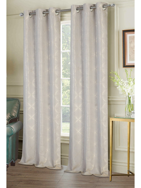 Chandler Grommet Panel PAIR - Panel Pair   074x063 Sand C40946- Marburn Curtains