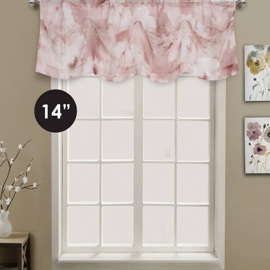 Clouds Rod Pocket Valance