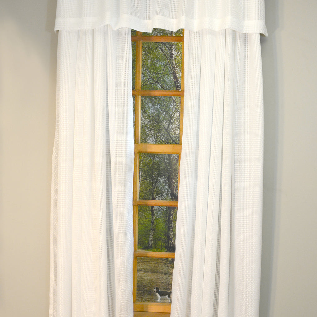 Durness Rod Pocket Panel/Valance