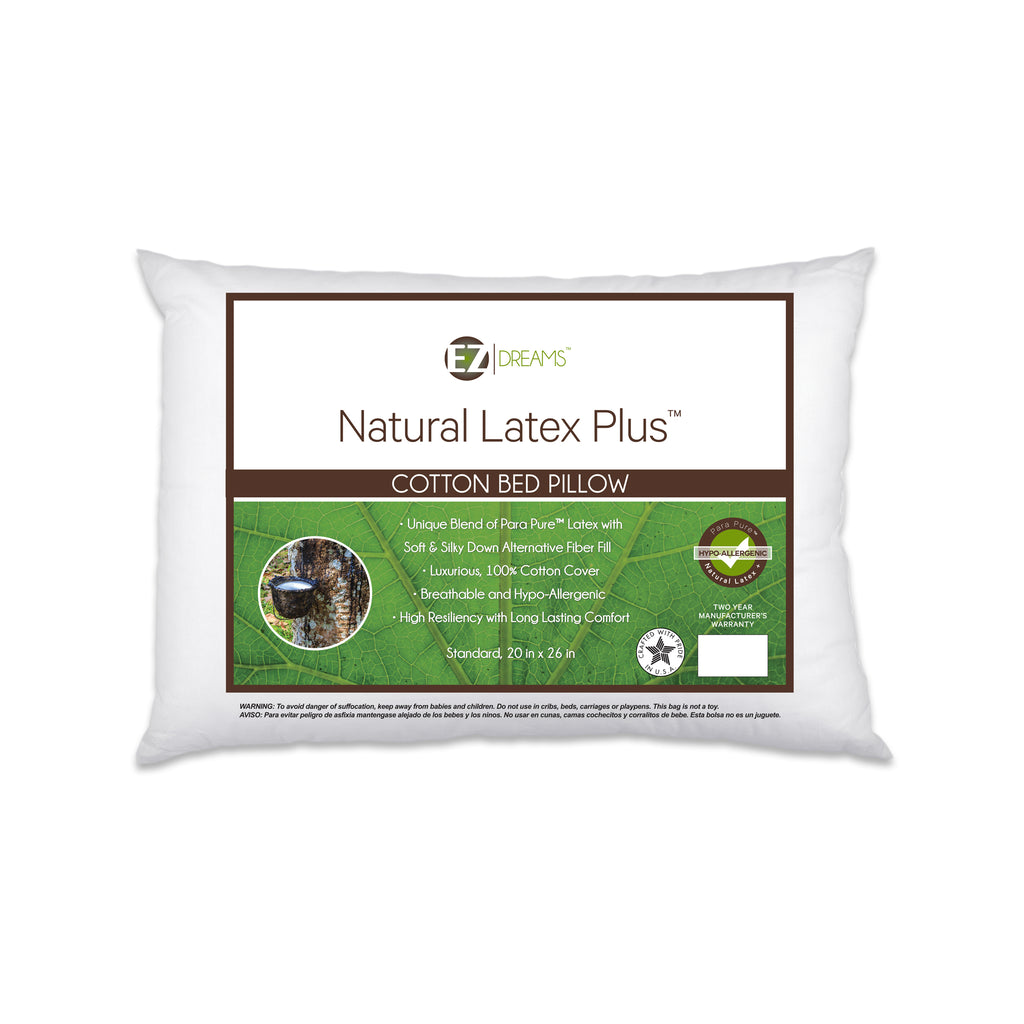 Natural Latex Plus Bed Pillow