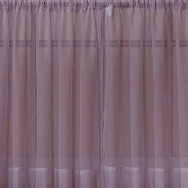 Emelia Sheer Voile Rod Pocket Swagger - 090x063 Amethyst C31924- Marburn Curtains